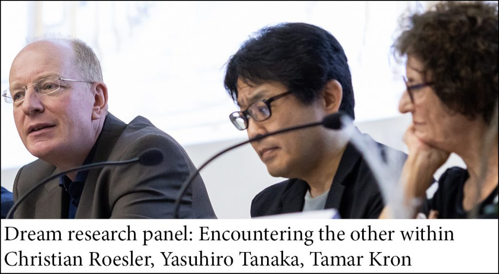 Dream research panel: Encountering the other within