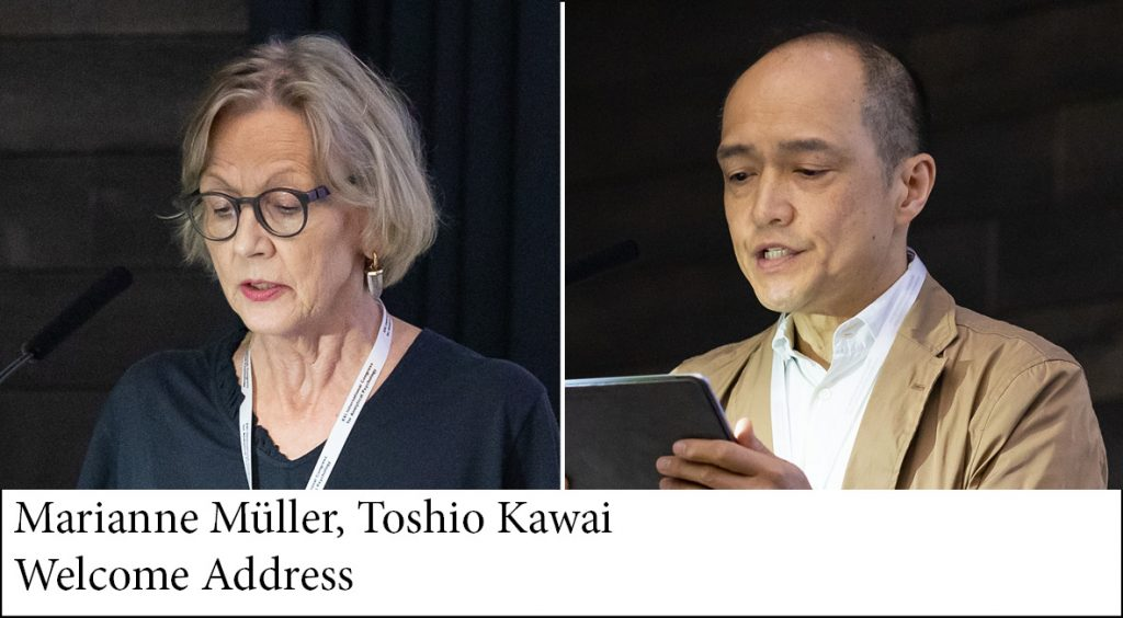 Marianne Müller and Toshio Kawai, Welcome Address