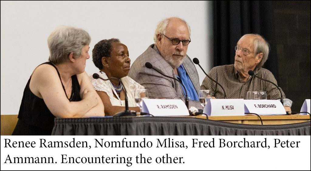 South Africa panel: Encountering the other